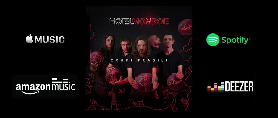 Gli Hotel Monroe alla Feltrinelli di Parma